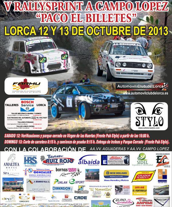 CARTEL SUBIDA Y RS CAMPO LOPEZ 2013.jpg
