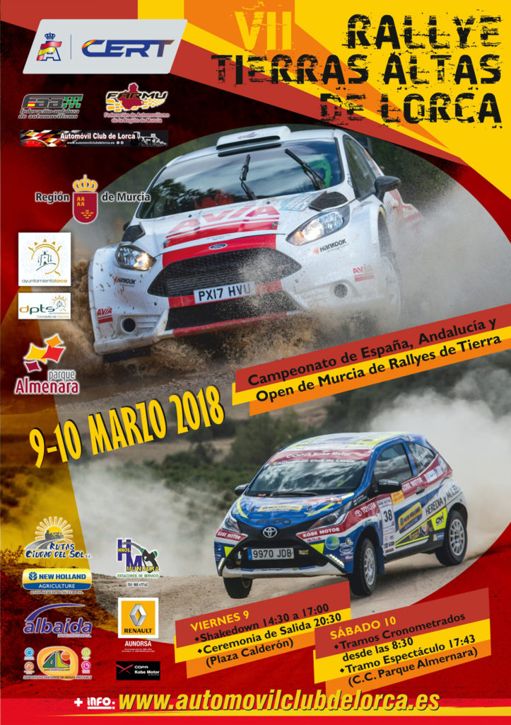 Rallye Tierras Altas de Lorca 2018