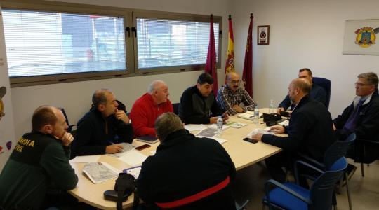 seguridad del Rallye Tierras Altas de Lorca
