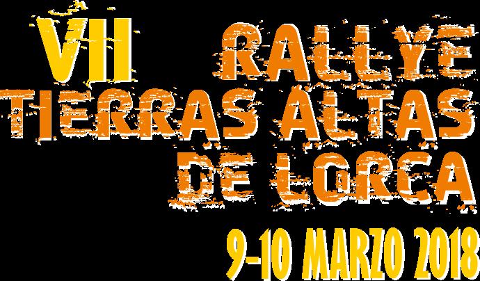 VII Rallye Tierras Altas de Lorca 2018