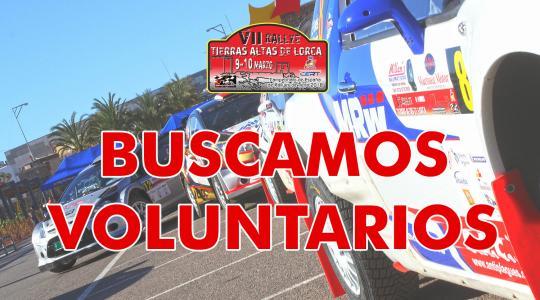 Colaborar con el Rallye Tierras Altas de Lorca