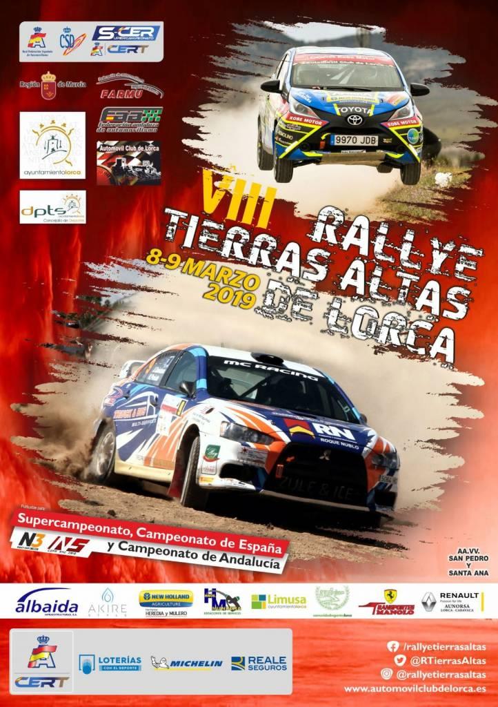 SCER + CERT: VIII Rallye Tierras Altas de Lorca [8-9 Marzo] Cartel-oficial-VIII-Rallye-Tierras-Altas-de-Lorca-722x1024