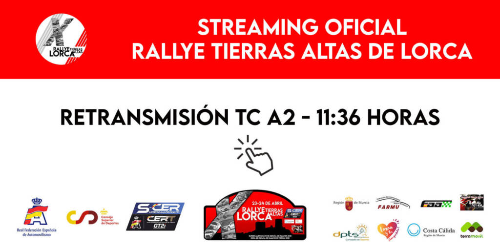 SCER + CERT: 10º Rallye Tierras Altas de Lorca [23-24 Abril] Streaming1-1024x512